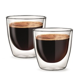 Double Wall Coffee Americano Glass 200ml